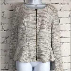 Elle Women's Sweater Blazer Jacket Size 12